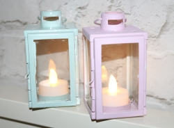 Pastel Candle Holders