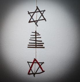 Twig Christmas Decoration