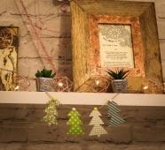 Fabric Christmas Trees